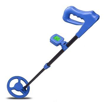 Voilamart - Detector de Metales Ligero para niños y Principiantes con Bobina de búsqueda Impermeable y Pantalla LCD y Tallo Sensible Ajustable: Amazon.es: ...
