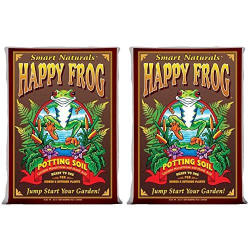 Cheap (2) FOXFARM FX14047 pH Adjusted Happy Frog Organic Potting Soil Bags | 4 Cu Ft for cheap