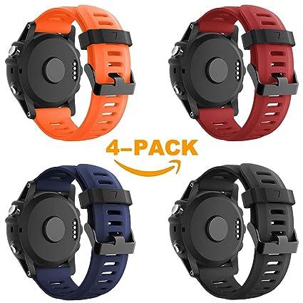 Yayuu Compatible Garmin Fenix 3 Correa Fenix 5X Banda para Reloj ...