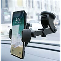 R2B Telefoonhouder auto met zuignap geschikt voor raam/dashboard - Auto accessoires - Phone holder - Auto telefoonhouder…
