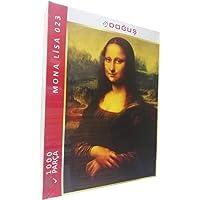 1000 Parça Mona Lisa Resimli Puzzle Yapboz