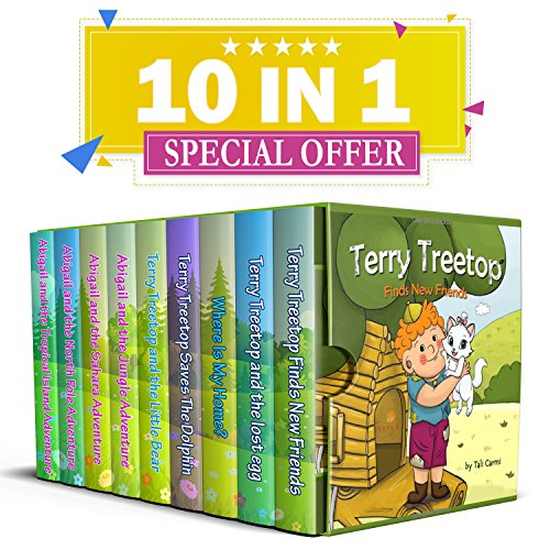 The Terry Treetop & Abigail Book - Bright Terry Shorts
