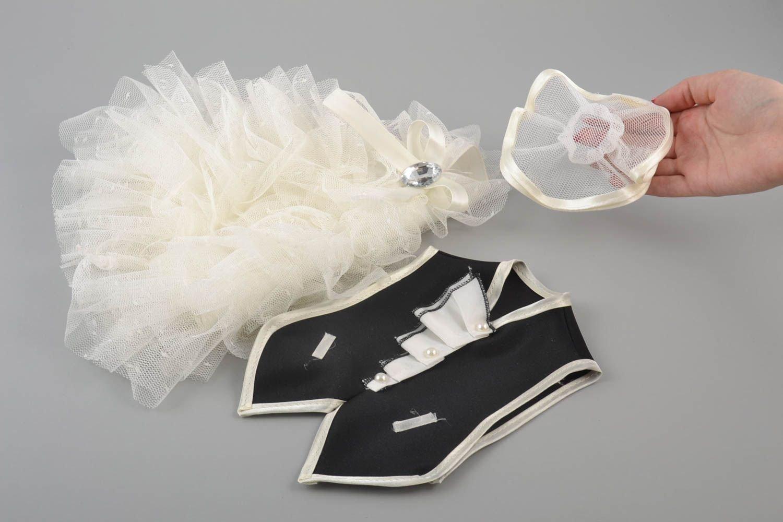 Ropa de boda para botellas hecha a mano fraque y vestido de novia originales: Amazon.es: Hogar