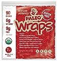 Paleo Wraps USDA Organic 7 Individual Wraps GlutenFree And Keto