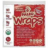 Julian Bakery : Paleo Wraps® : Gluten-Free : Grain-Free : 7 Individual Wraps : 6 Net Carbs