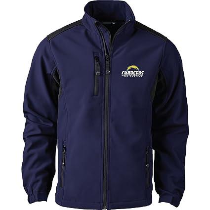 Buy Dunbrooke Apparel NFL San Diego Chargers Men s Softshell Jacket ... ff7cc1b71