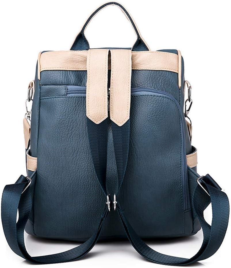 JUCHENG-TP Zaino Semplice Stile College Daypack per Scuola Viaggio Lavoro (Color : Black) Black