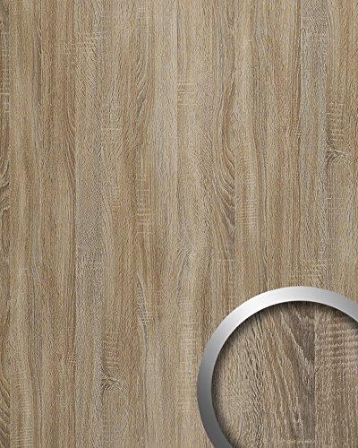 WallFace 17281 DECO OAK TREE Wall panel self-adhesive wood decor Luxury wallcovering self-adhesive grey | 2,60 sqm by Wallface (Image #1)