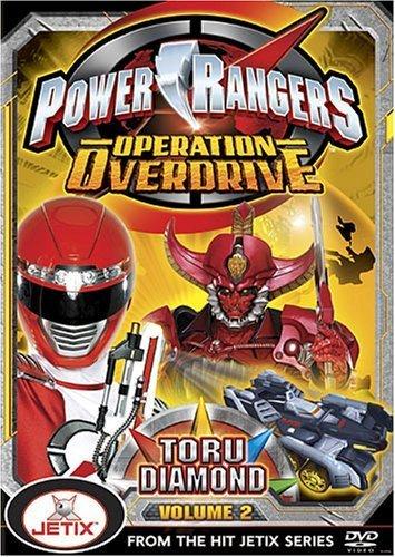 Amazon.com: Power Rangers: Operation Overdrive, Vol. 2, Toru ...