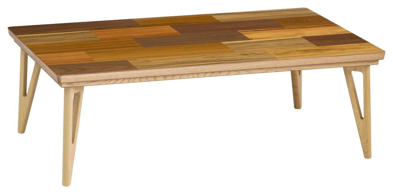 日本製 家具調こたつ Mojo Delta Mosaic II (モジョデルタモザイク) 120×75cm 1270075 B07595W32R  120×75cm