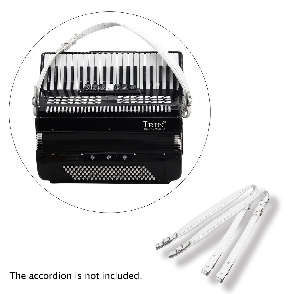 Kalaok One Pair Adjustable Synthetic Leather Accordion Shoulder Straps for 16-120 Bass Accordions by Kalaok (Image #5)