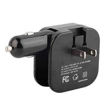 HONZIRY Portátil 2 en 1 Adaptador de Cargador Puertos USB ...