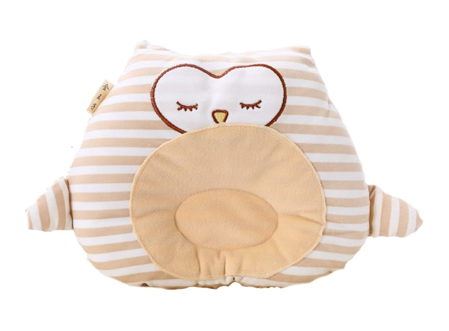 Baby Head Shaping Pillow - No More Flat Head for Infants and Newborns