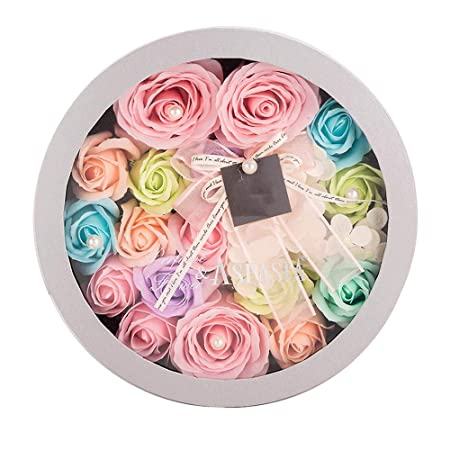 Liuzecai Flores Artificiales Rosas Never Withered Rose Gift ...