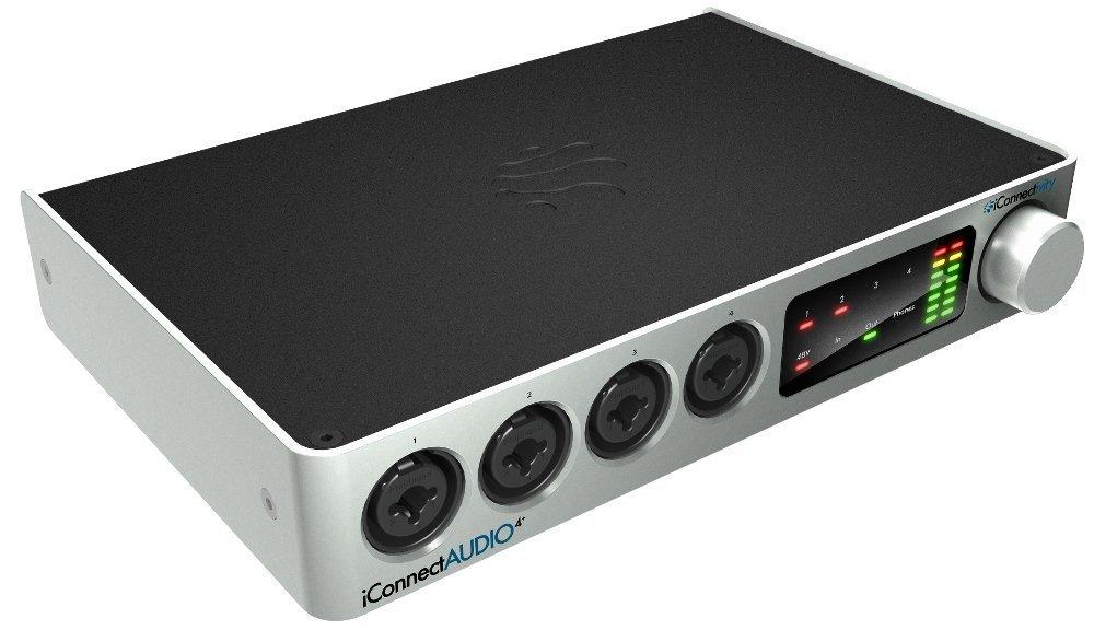 iConnectAUDIO4+ Advanced Audio & MIDI Interface for iOS/Mac/PC