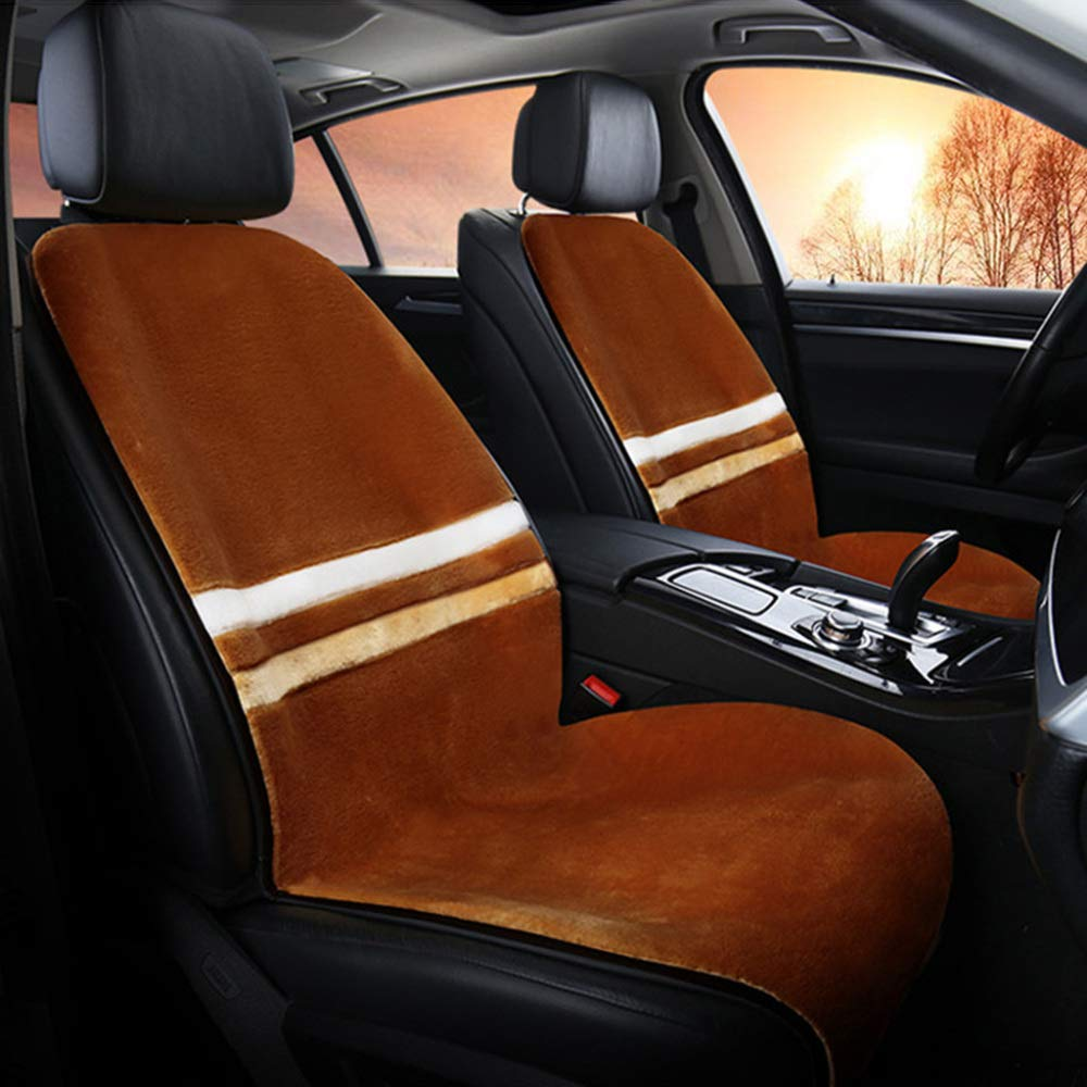 -Beige x1 JXing Car Heated Seat Cushion Universal 12V Winter Automobile Warmer Heating Pad With Thermostat HI//LO Mode,Seat