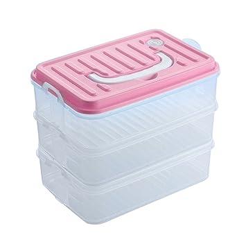 Tenyid 3 Schicht Frischhaltebox Plastikboxen Mit Deckel Grosse