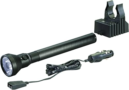 LED Flashlight with 12-Volt DC Charger