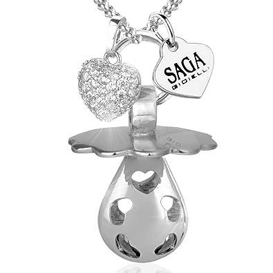 Saga Gioielli - Collar llamador de ángeles con bola mexicana ...