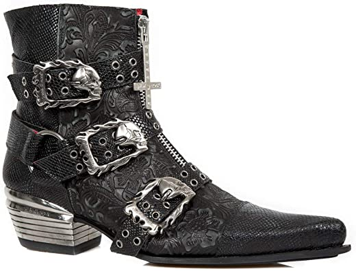 New Rock M.WST062-S1 Botas Botines Unisex Mujer Hombre ...