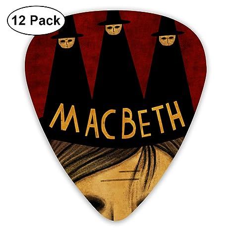 PPCCLPPO Macbeth Púas De Guitarra Púa Para Guitarra Para Guitarra ...