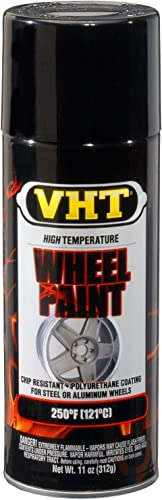 VHT SP187 Gloss Black Wheel Paint Can