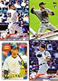 #6: Aaron Judge 2018 Topps Lot of 4 Baseball Cards - Includes 2017 Topps Rookie Card
