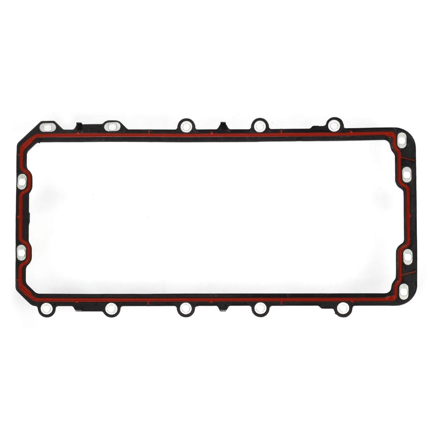 Engine Oil Pan Gasket Set OS32517, OS21013, OS34307R, OS6033 Fits For 2008-2013 Ford Expedition Explorer F-150 E-150 Mustang