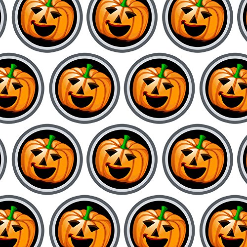 Premium Gift Wrap Wrapping Paper Holiday Halloween Fall Harvest Thanksgiving - Halloween Jack O' Lantern -