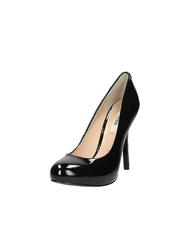 High Heels Guess schwarz Silber 37,5