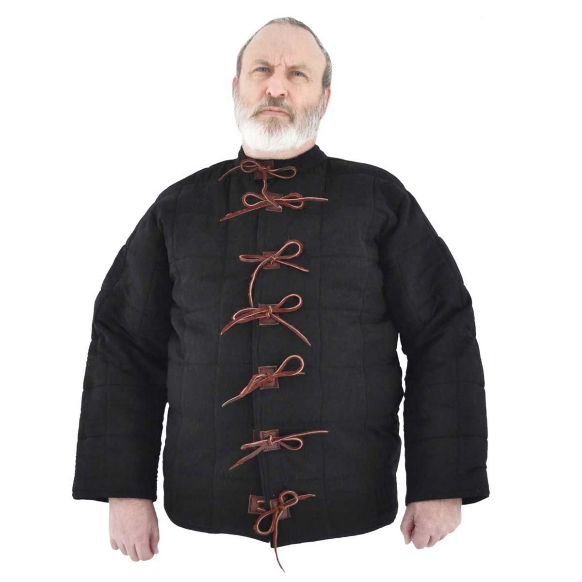 GDFB Mittelalter Rüstwams/Farbe: schwarz/Mittelalter Rüstung/Get Dressed for Battle