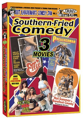 Sgt. Kabukiman's Southern-Fried Comedy Jam: [3 Films] ELLIE, PREACHERMAN, & HOT SUMMER IN BAREFOOT COUNTRY