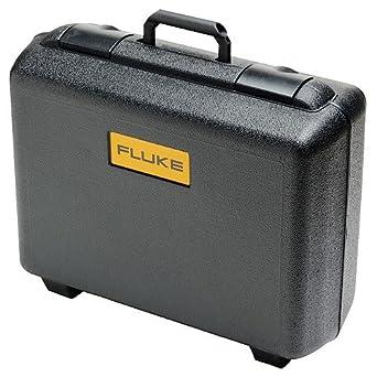fluke 884x case heavy duty tough molded plastic carry case with die cut foam black. Black Bedroom Furniture Sets. Home Design Ideas