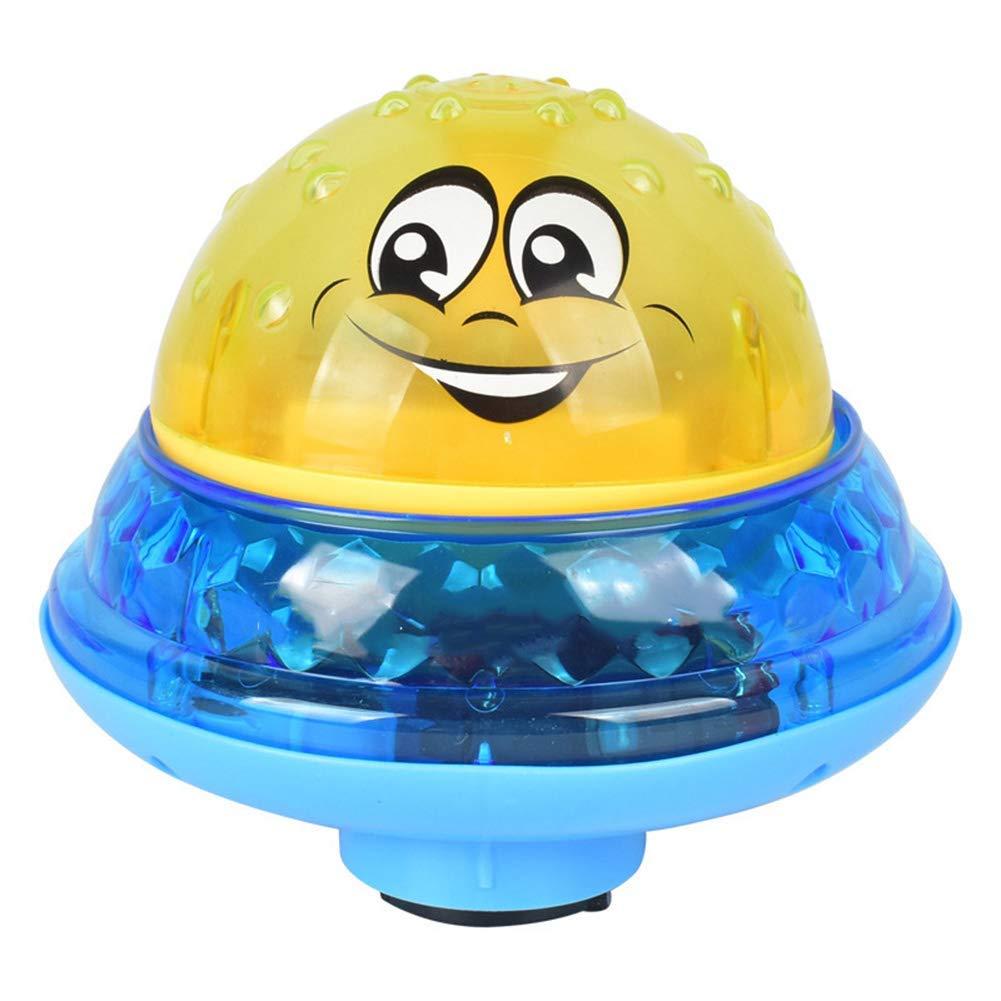 Fullein Eléctrico Inducción Spray Balón Luz Baño Niños Pequeños ...