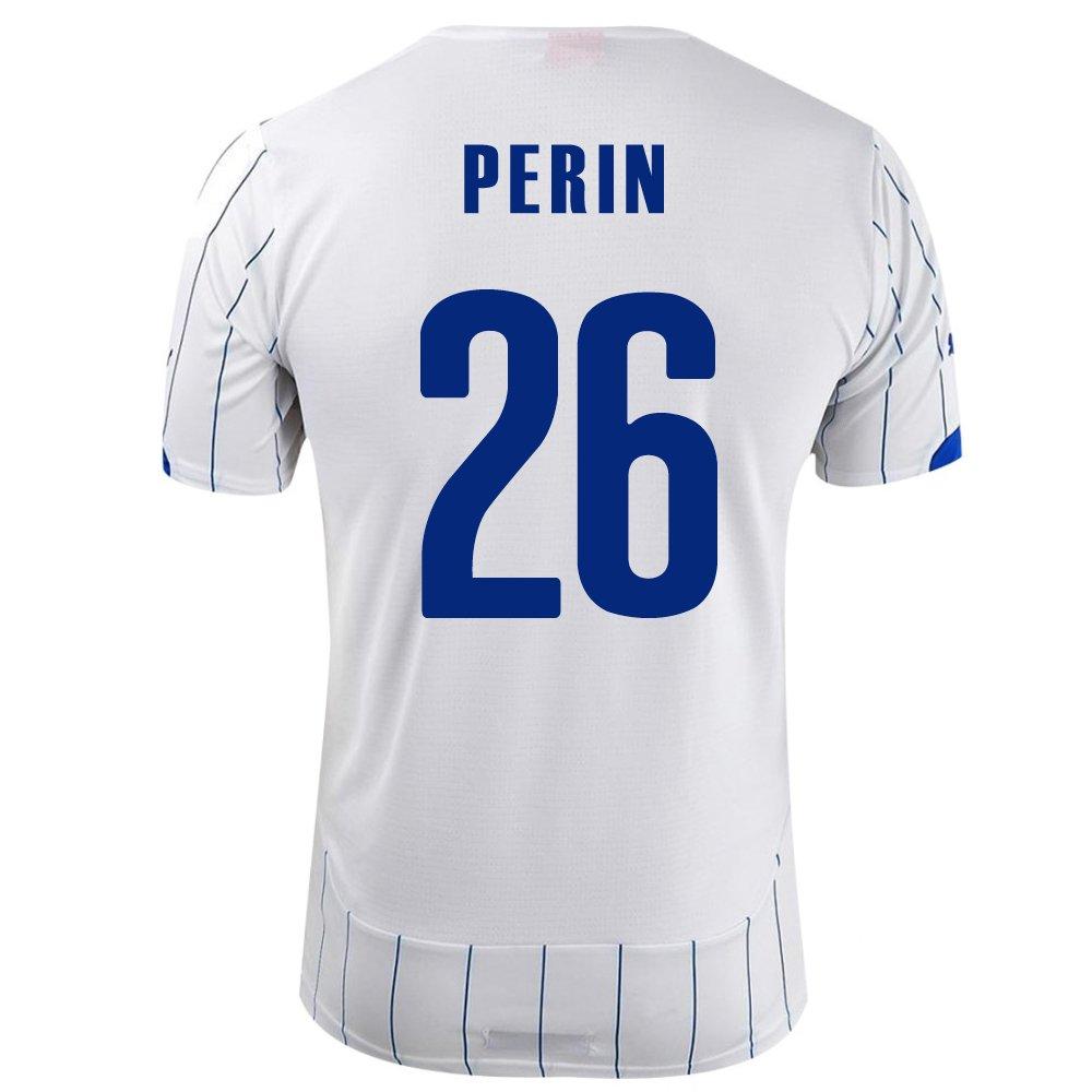 PUMA PERIN #26 ITALY AWAY JERSEY WORLD CUP 2014/サッカーユニフォーム イタリア代表 アウェイ用 ワールドカップ2014 背番号26 ペリン B00JPQD8PO   Large