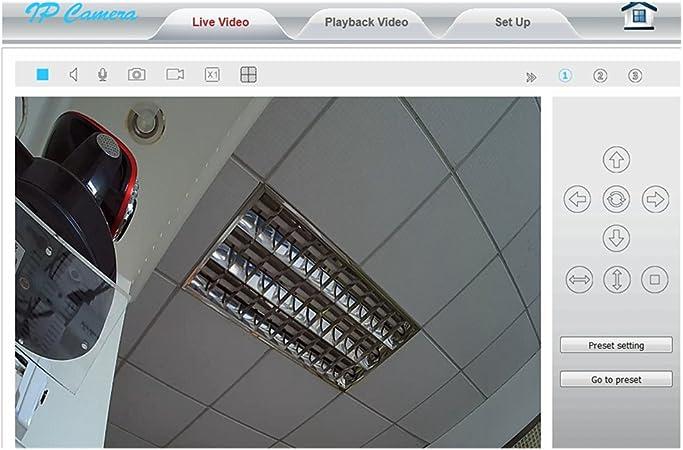 konlen 1080P 2 MP Full HD WiFi Cámara IP Wireless Home Seguridad 1 ...