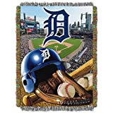 """The Northwest Company MLB Detroit Tigers Home Field Advantage Woven Tapestry Throw, 48"""" x 60"""