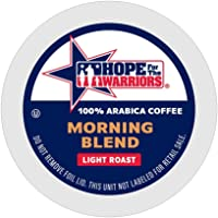 Hope For The Warriors Coffee 80 Single Serve Coffee Pods Keurig K Cup Brewers 80, Morning Blend, 80 Count