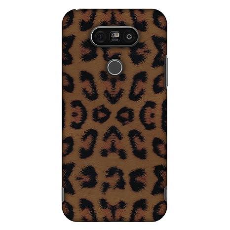 Amzer - Carcasa rígida para LG G5, diseño de Leopardo ...