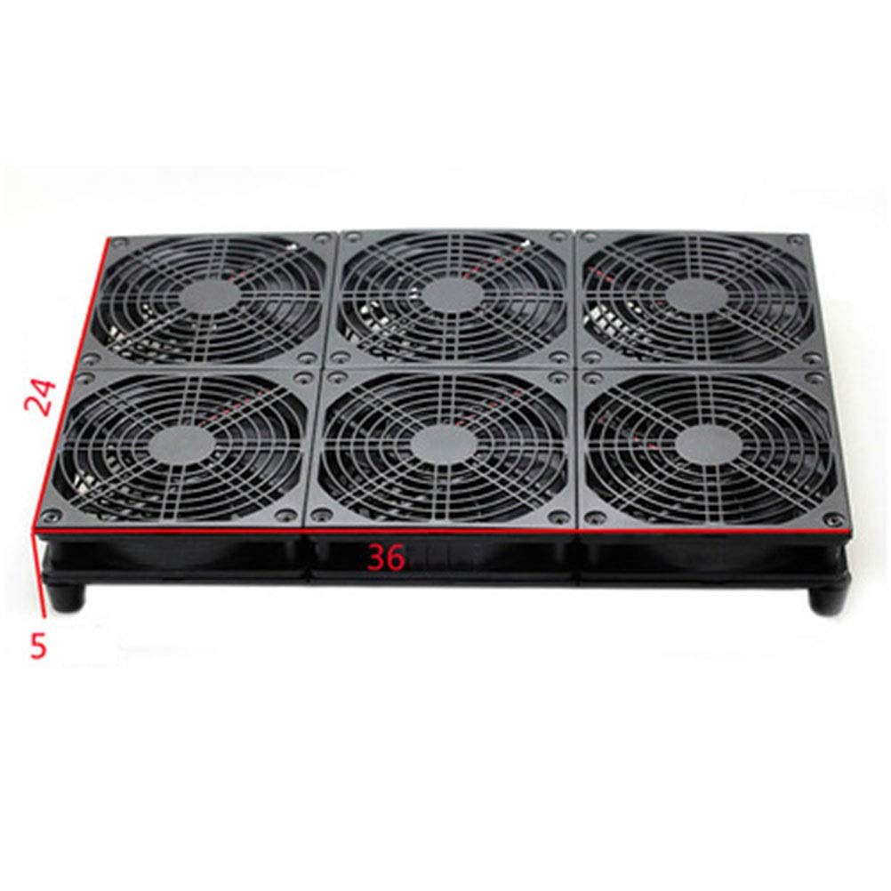 Ho,ney Notebook Cooler - Home Laptop Radiator, Large Air Volume, Silent Fan, Exquisite and Durable Radiator -1053 Notebook Cooler