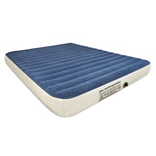 78x60x20 inch Mersuii Air Mattress Queen Size Portable Inflatable Airbed with Built-in Pump Durable Air Mattress Full Storage Bag Included Classic Stripe Flocked Surface