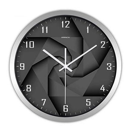 Wall clock WTL Reloj de Pared Sala de Estar Dormitorio Creativo Moderno Minimalista de Dibujos Animados