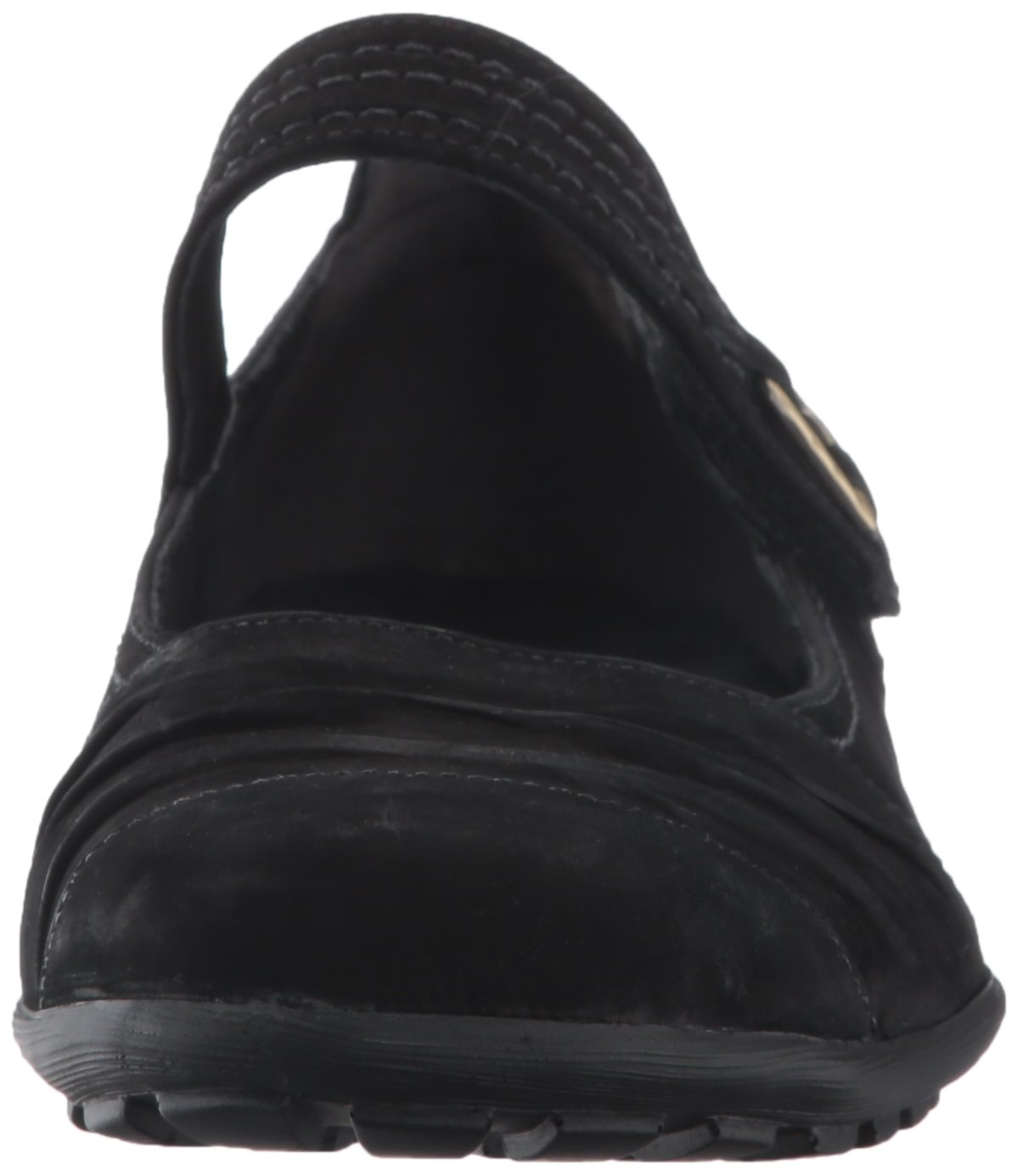 Walking Cradles Women's Hayden Loafer B01MZD7CNS 6.5 W US|Black Roughout Leather