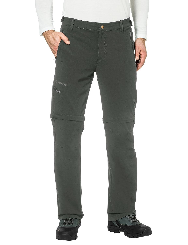 Vert (olive) 54-L VAUDE Hommes's Farley Pantalon Stretch T-Shirt Zip Pants
