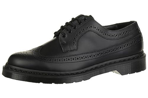 Dr. Martens 3989 MONO scarpa stringata stile inglese in pelle nera suola  nera  Amazon.it  Scarpe e borse 12c454281c6