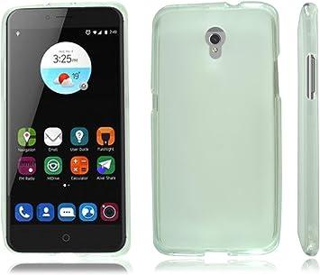 ZTE Blade V7 nuevo negro carcasa de silicona para teléfono móvil ...