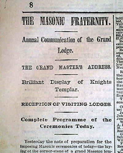 1870 Newspaper - 2