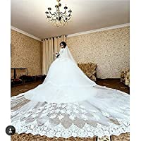 Newdeve 5M 2T Ivory White Lace Edge Cath...