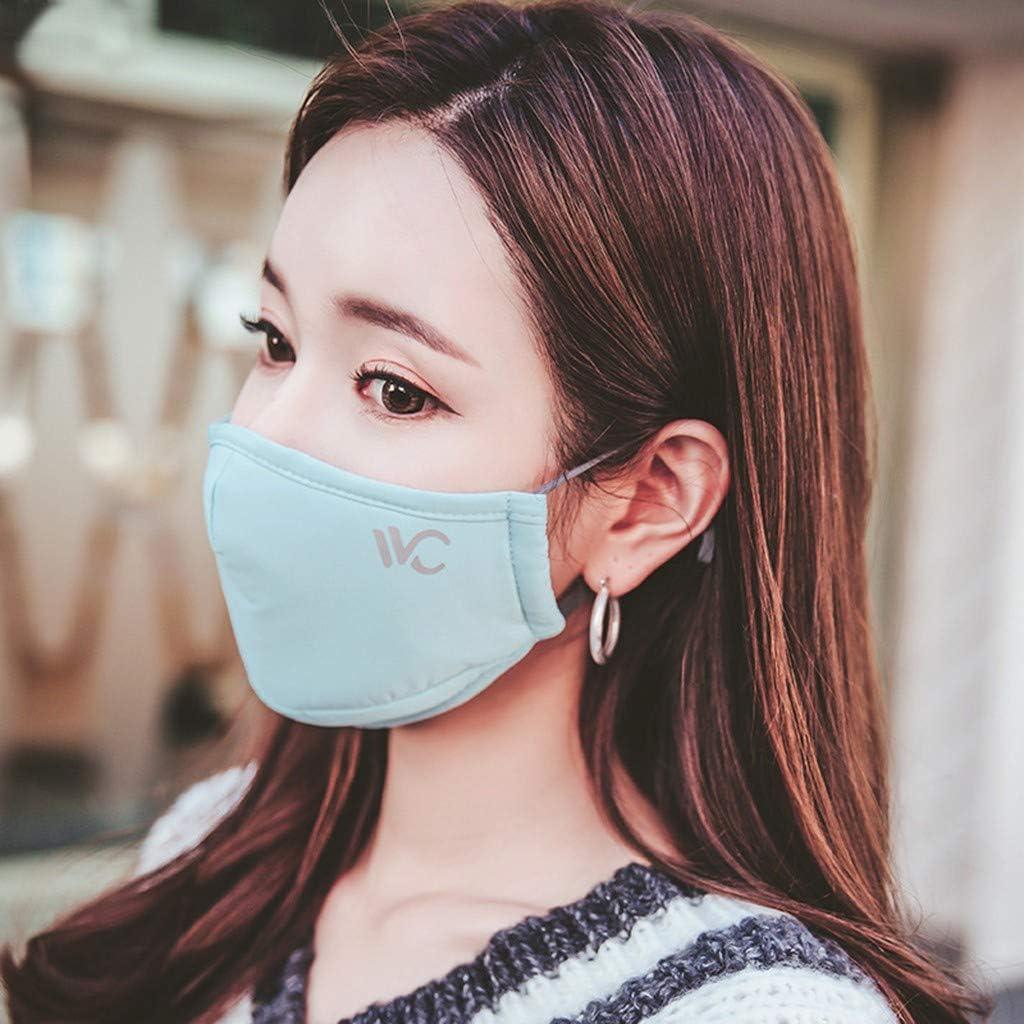 UDancin 1PC PM2.5 Gesichts Mund mɑske Atmungsaktives Anti Staub Dunst Grippefilter Atemschutzger/ät Wiederverwendbar mɑske Verschmutzungsmɑske Bakterien Schutz Vor Influenza mɑske