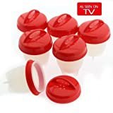 Ettersby Egglettes Egg Cooker - Hard Boiled Egg without the Shell As Seen on TV 6 cups Egg Cookers